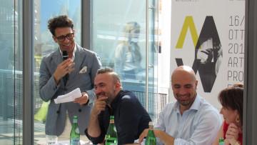 02_C. Seganfreddo_A. Bruciati_G. Bonelli_E. Amadini_Lancio 11a ed. di ArtVerona Art Project Fair in EXPO_11.06.2015